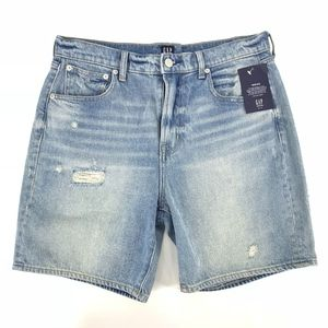 Gap Denim Distressed Jean Shorts